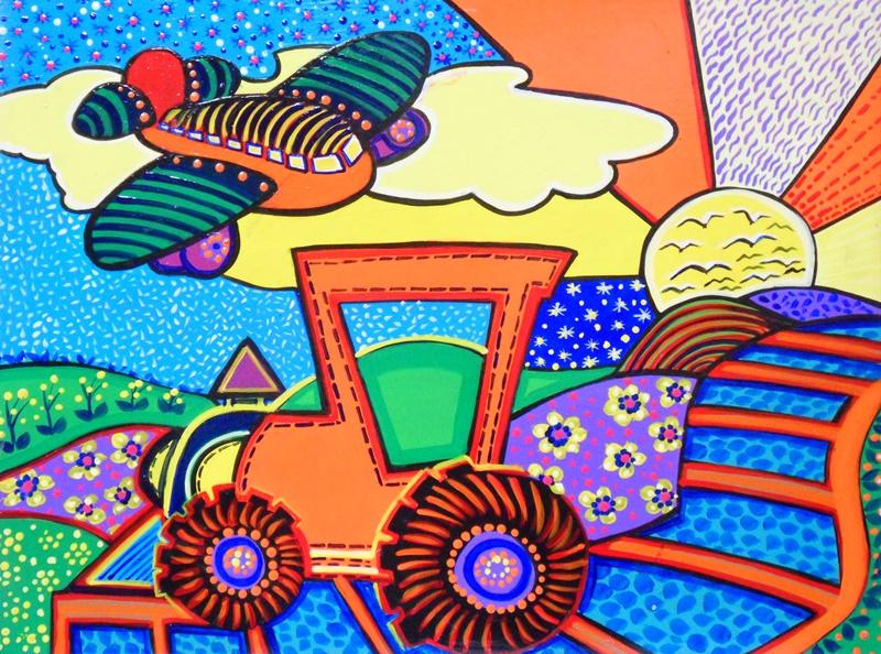 Cuadros modernos pinturas y dibujos pinturas decorativas - Cuadros murales para pared ...
