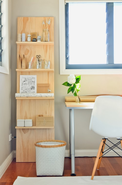 Scandi Plywood Shelf from SCANDI HOME