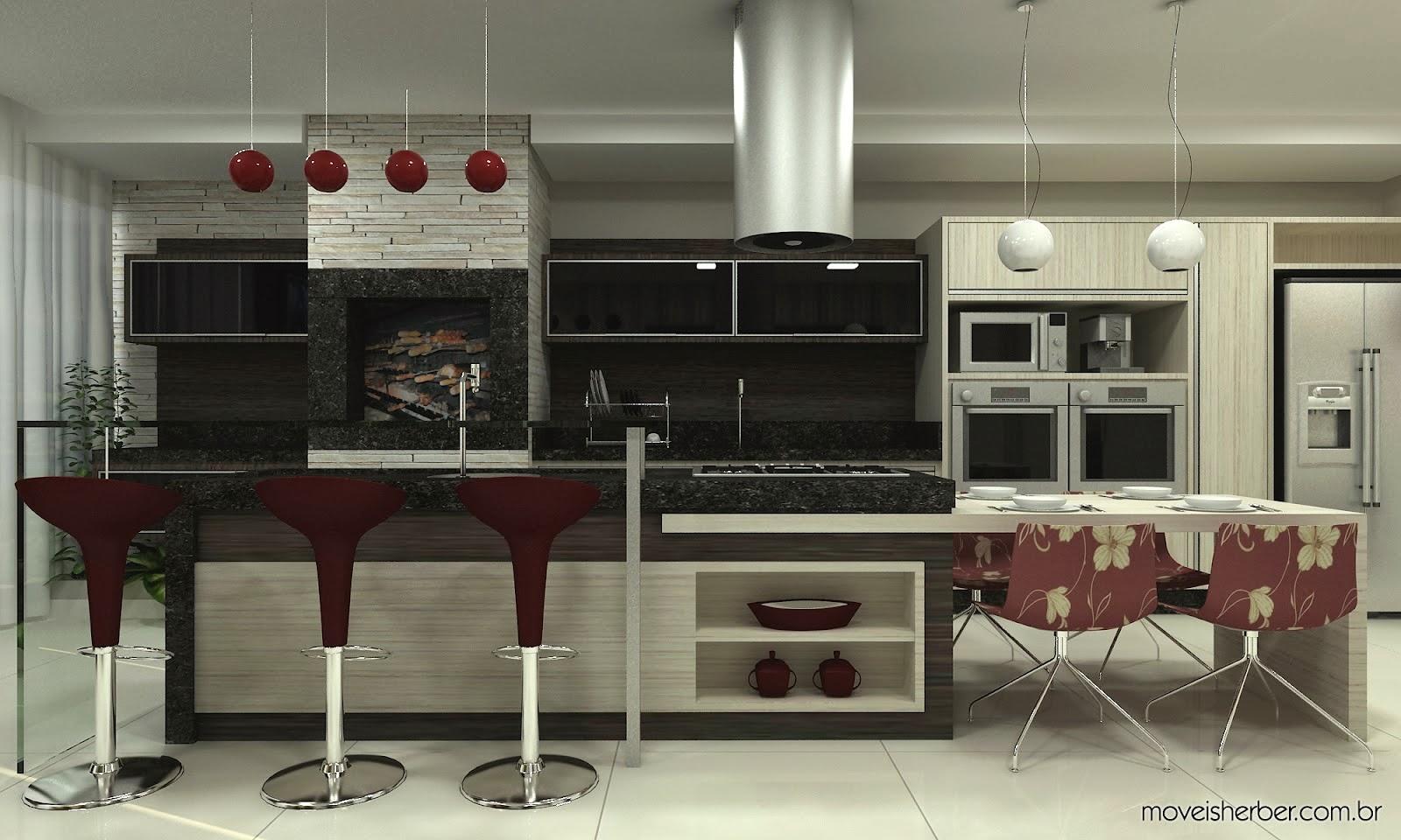 #604038 Balcao De Tijolo Vidro Cozinha Americana Com Balcao De Tijolo Vidro 1600x960 px Bancada Cozinha Americana Tijolo Vidro #1307 imagens