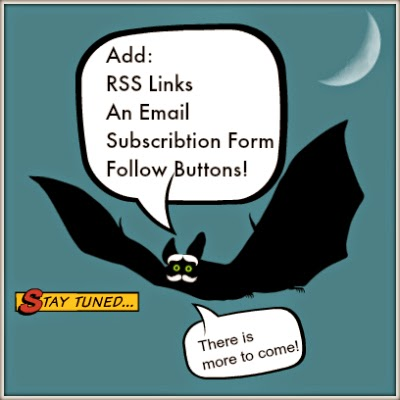 Add RSS buttons, an email subscription form and lots of follow buttons!