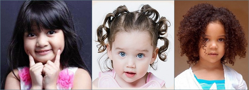 Gaya rambut anak 1