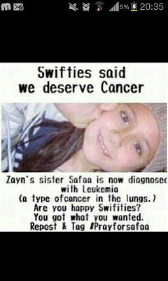 Zayn Maliks Sister Safaa Has Cancer One Direction D...