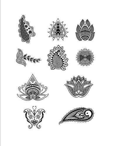 Simple Tattoo Designs Posted by Mehndi Designs at 412 AM