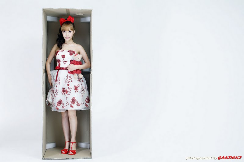 Im Min Young Lovely in Dress