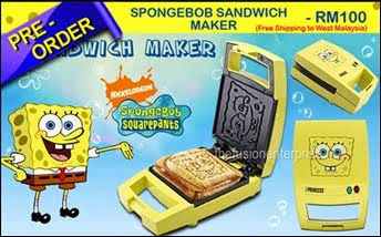 SPONGEBOB SANDWICH MAKER