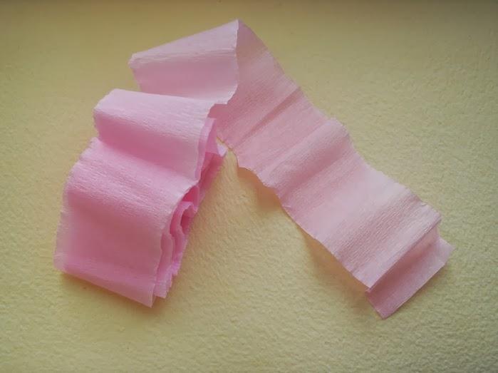 Manos a la obra como hacer rosas de papel crepe - Como hacer rosas de papel ...