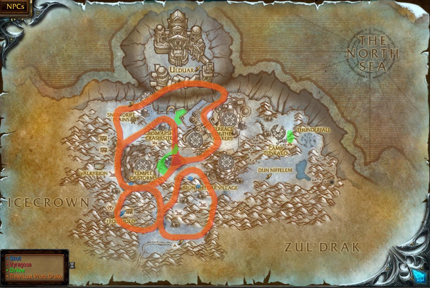 How to leave dalaran to northrend Dalaran Map on
