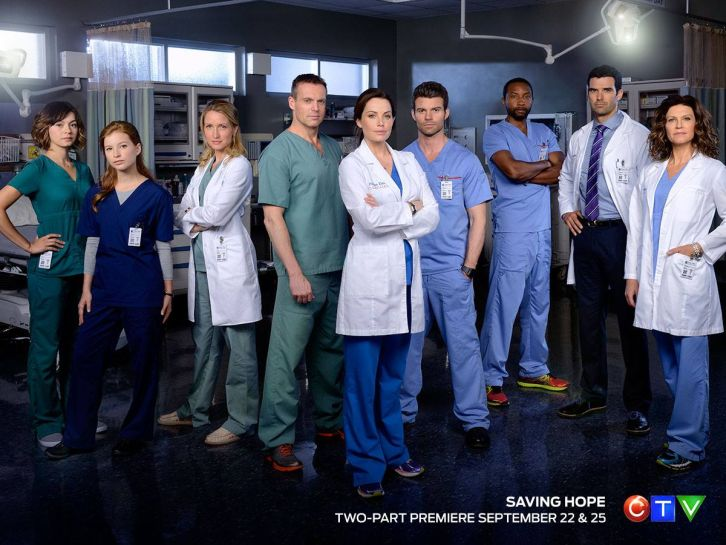 Saving Hope - Season 3 - Full Cast Promotional Image + New Network Home