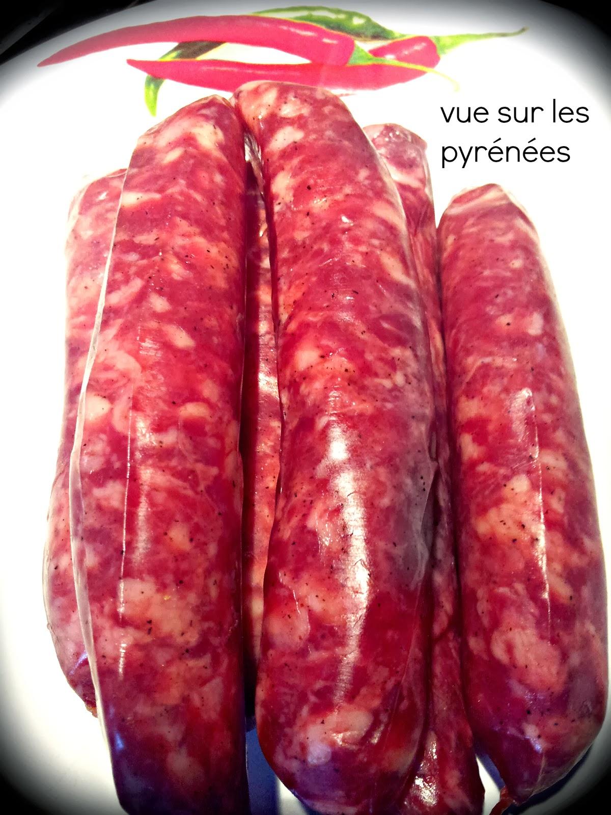 La lukinka  la saucisse du pays basque