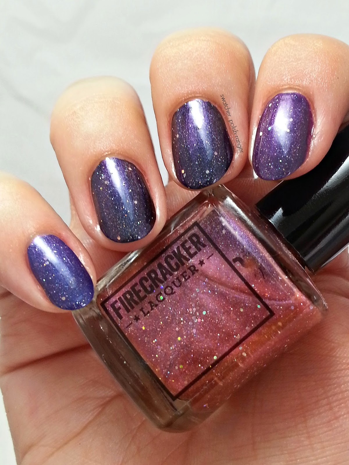 Firecracker Lacquer Your Mom Thought I Was Big Enough swatch