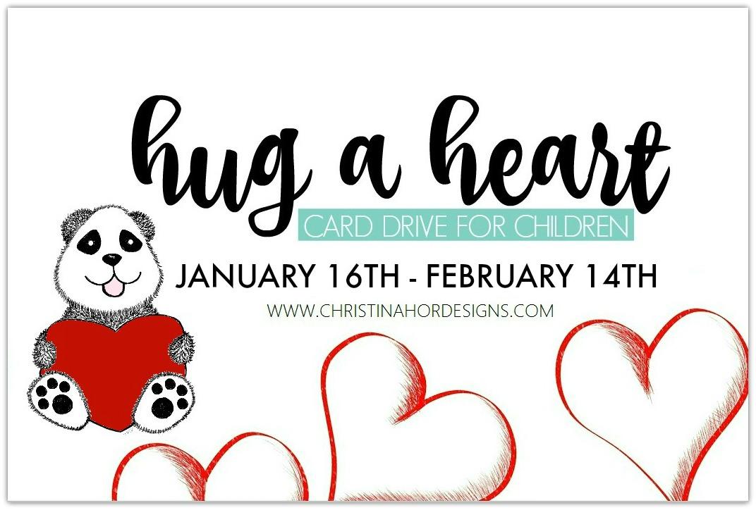 HUG A HEART CARD DRIVE 2017