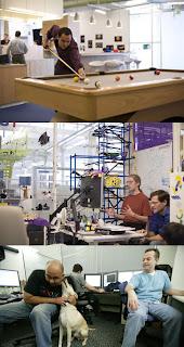 ambiente de trabalho, google, prazer