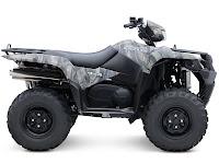 2013 Suzuki KingQuad 750AXi Camo ATV pictures 1