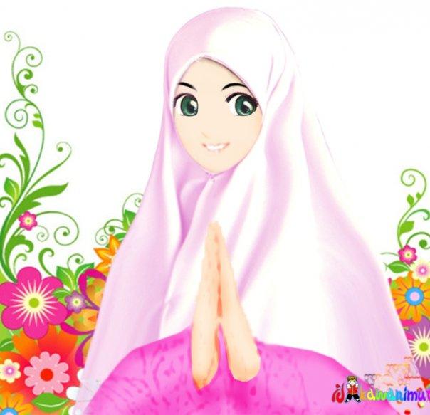 Foto Kartun Muslimah | Blog Dian Alm II