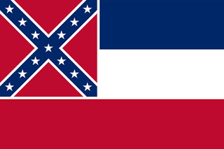 The state flag of Mississippi: Remind you of anything?