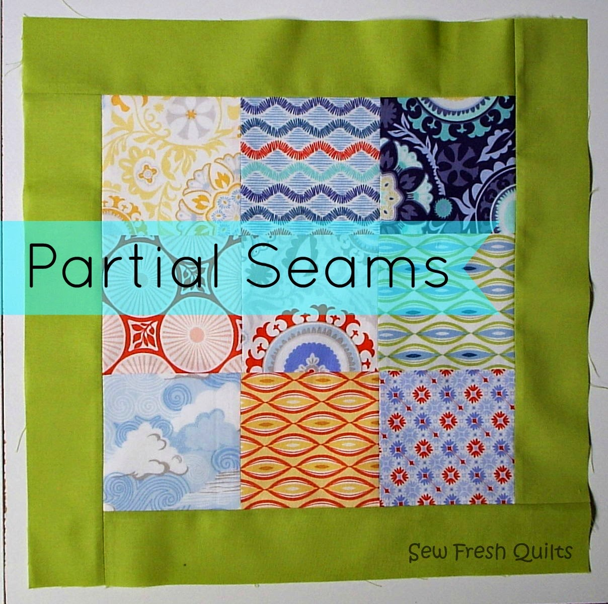 Partial Seams tutorial
