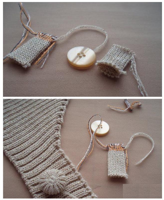 Patrones crochet - Botones para forrar ...