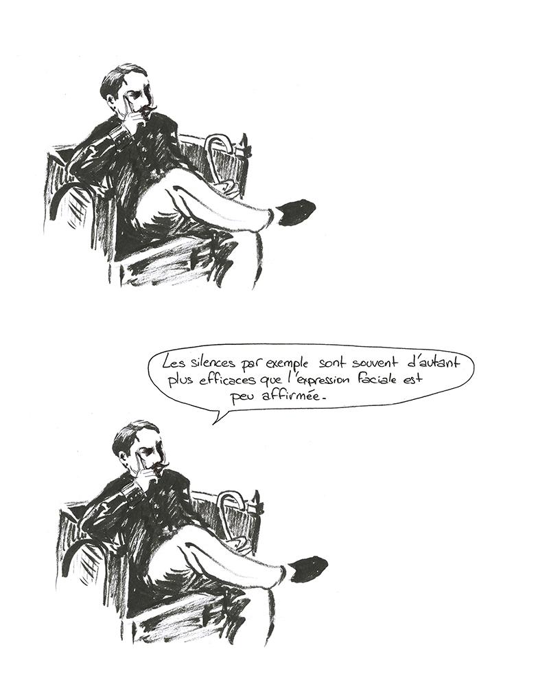 Maecel Proust sur Vivès et la bande dessinée