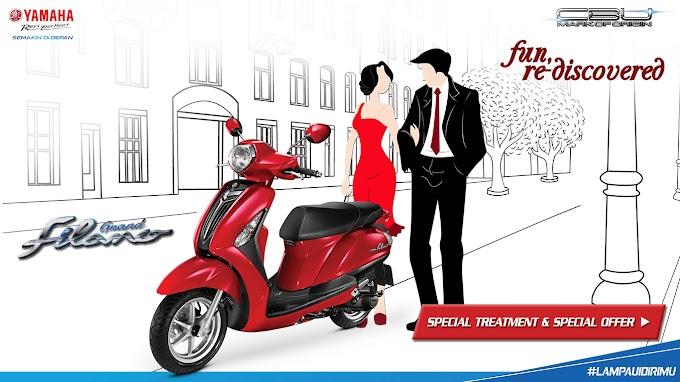 Yamaha Berikan Special Treatment dan Special Offer untuk Pembelian Grand Filano
