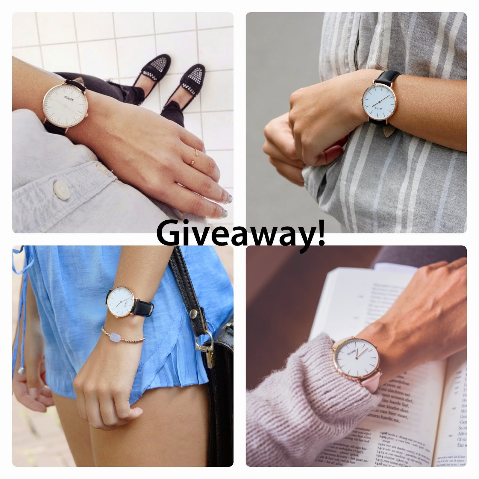 Win a Cluse watch!