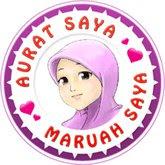 Like : Kempen Aurat Saya Maruah Saya di facebook!