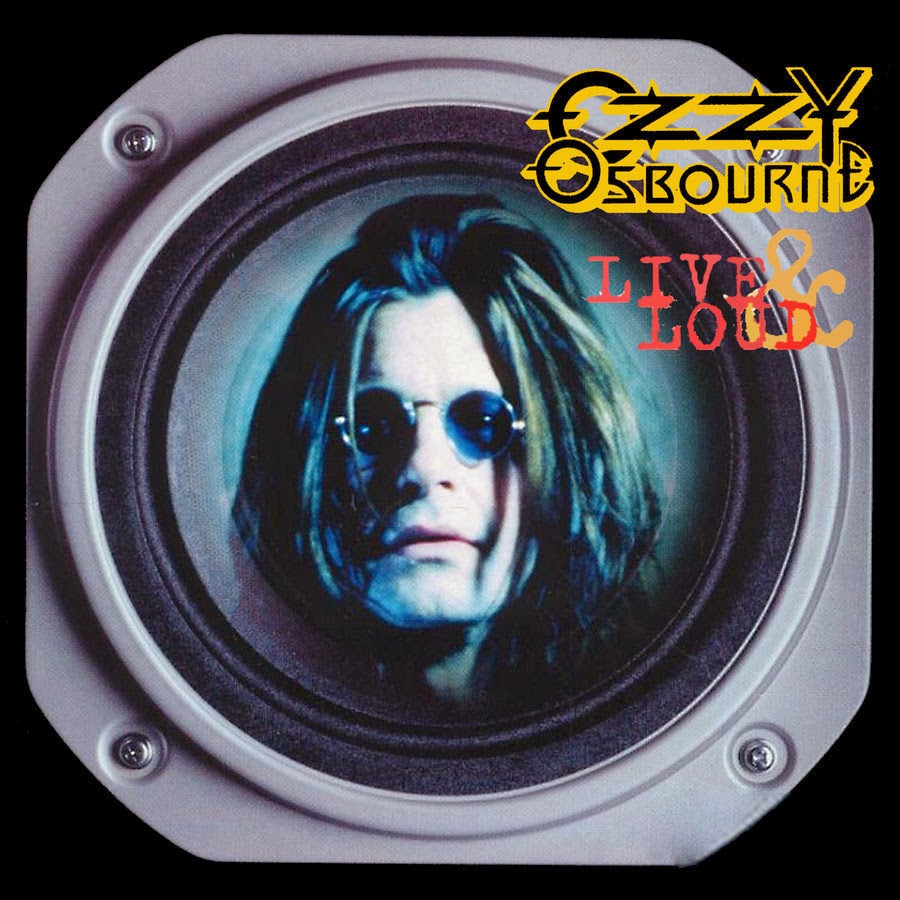 "Portada del ""Live and Loud"" de 1993. Ozzy Osbourne"