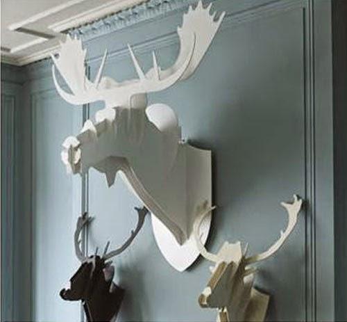 Heteruf designs decoraci n de interiores con trofeos y for Trofeos caza decoracion