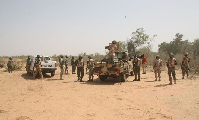 boko haram chased nigerian soldiers