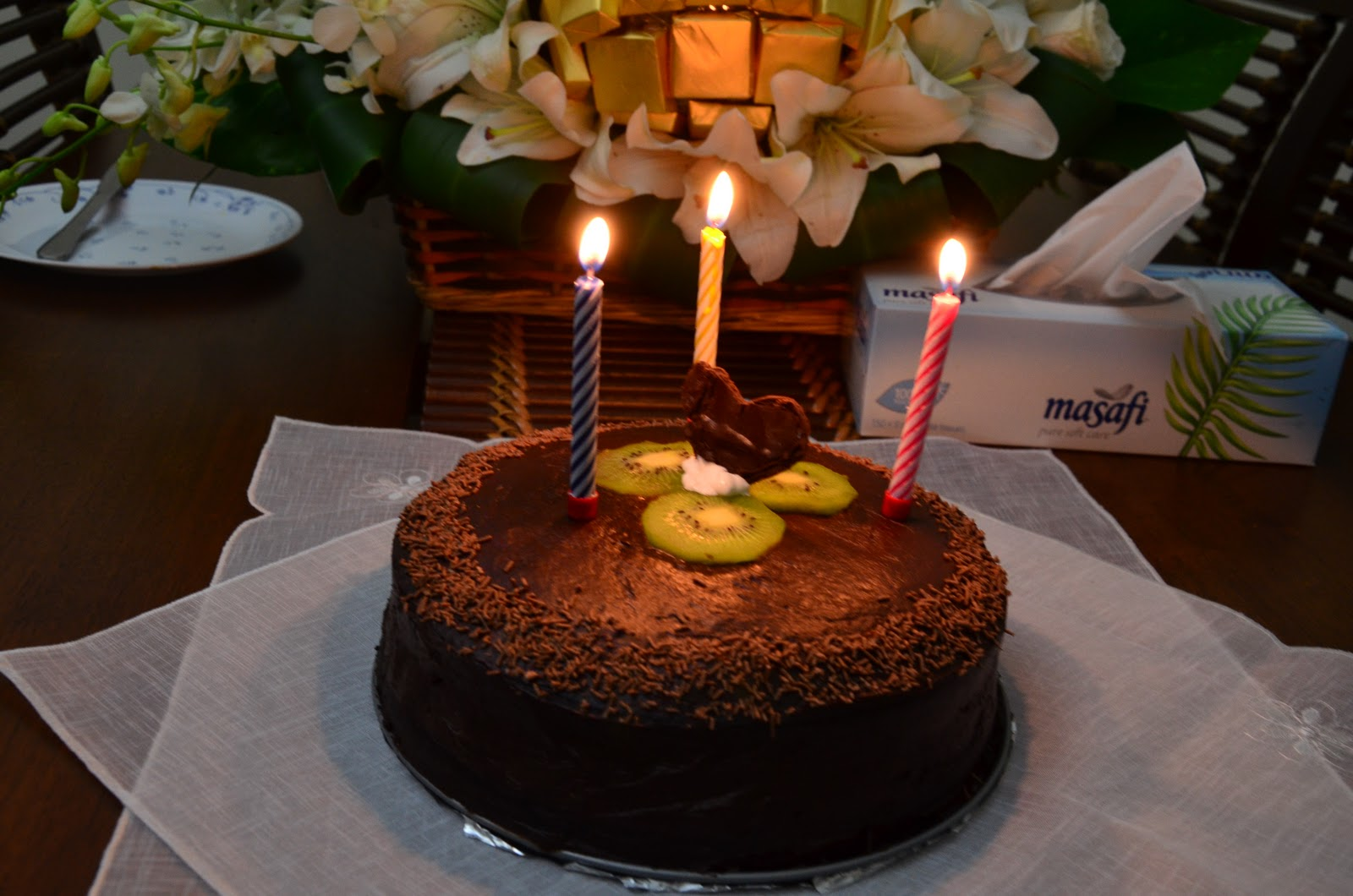 My Pressure Cooker Deep Dark Chocolate Birthday Cake And Kayfa