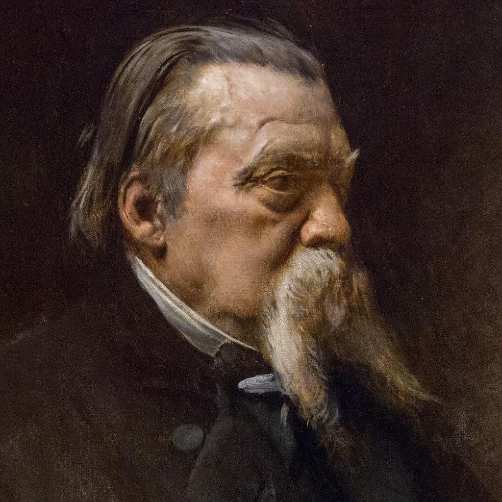 Leon  onnat Portrait de Jean Gigoux