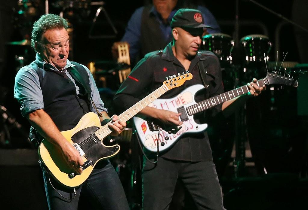 Tom Morello Bruce Springsteen