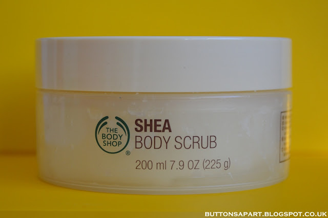 a picture of the body shop shea body scrub