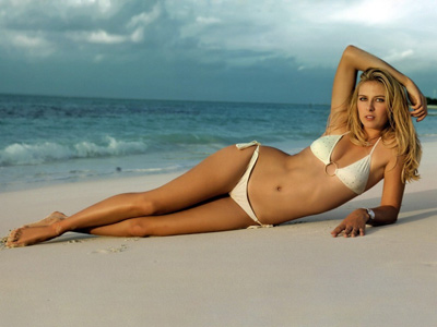 Maria Sharapova Sexy Bikinis Wallpaper Chicago Gay Pride 2004