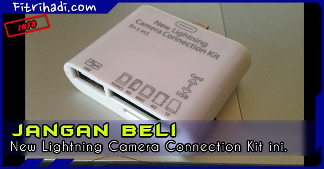 (Info) Jangan Beli New Lightning Camera Connection kit 2