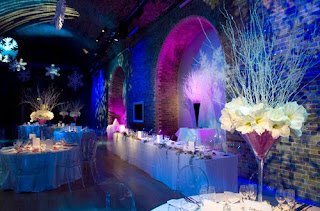 Romantic Winter Wonderland Wedding Decorations