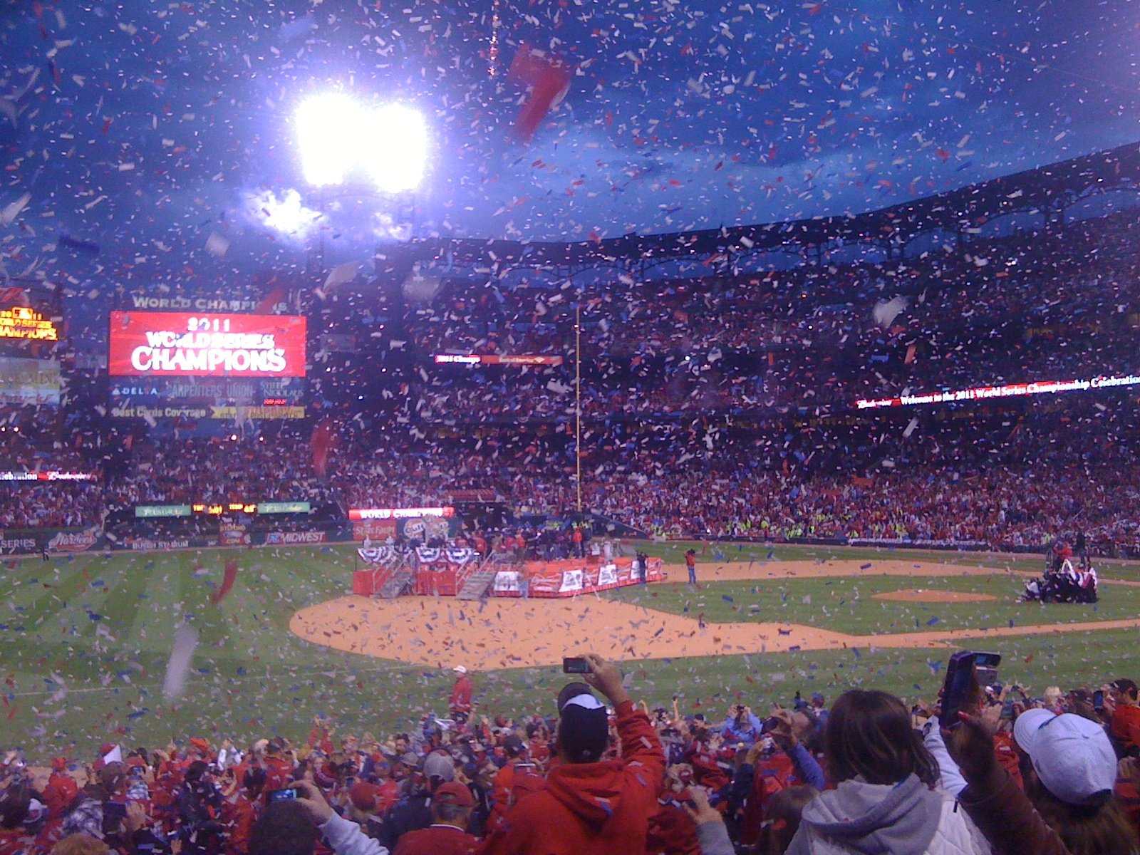 2011 Saint Louis Cardinals World Champions Celebration