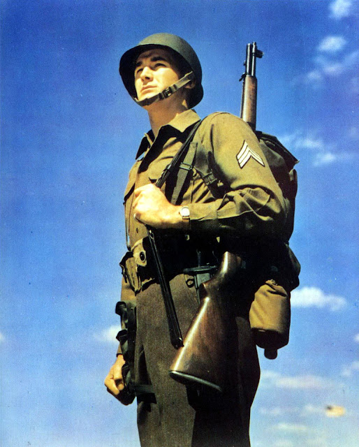 WORLD WAR II GI US ARMY UNIFORMS 1941-45 IN COLOUR PHOTOGRAPHS By Windrow NEW