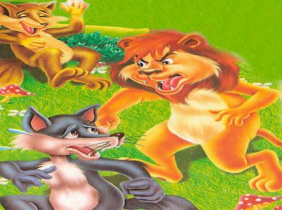 Fabula el León, la Zorra y el Lobo