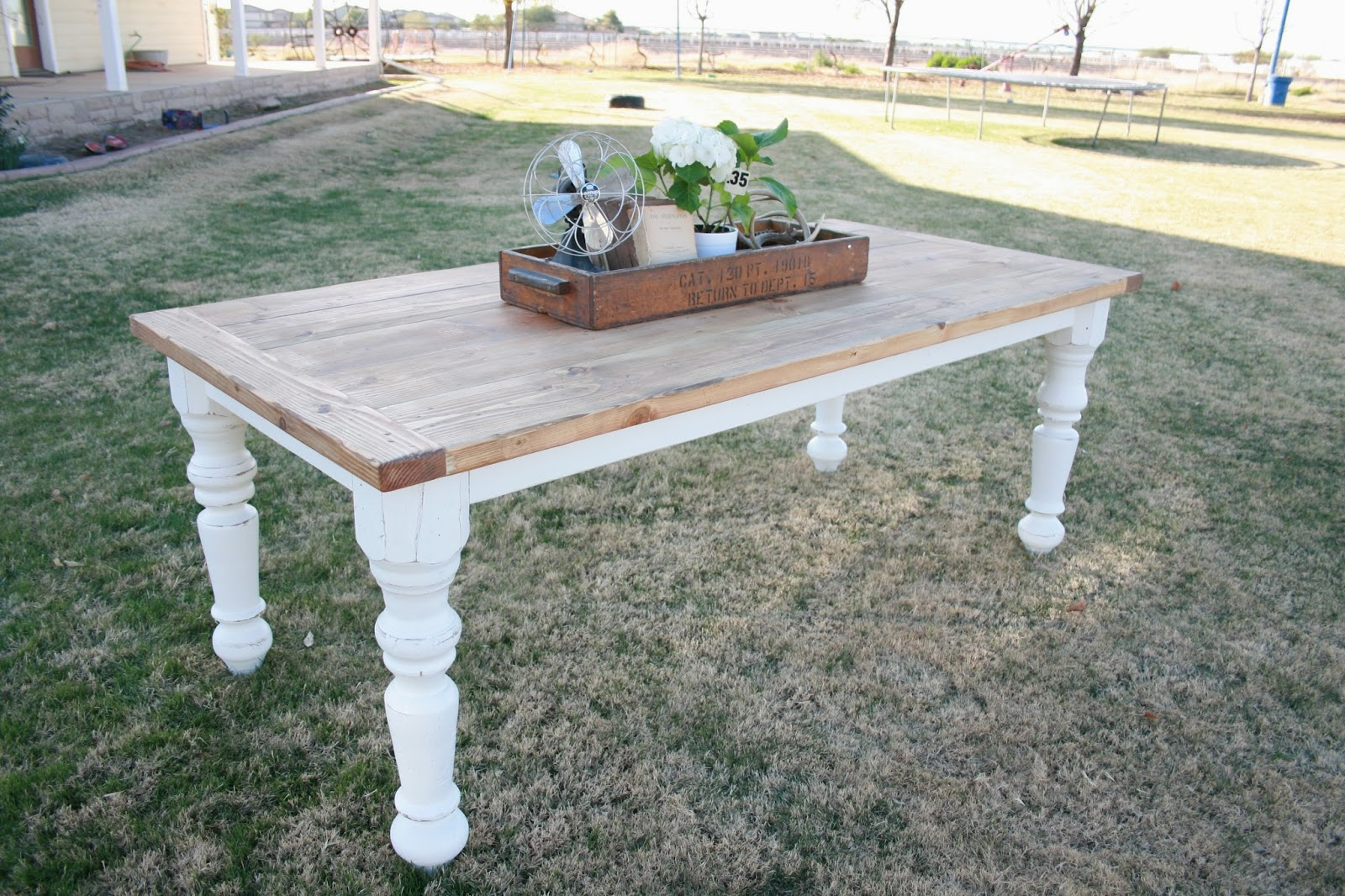 Grand Design Farmhouse Table