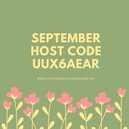 Host Code September 2019