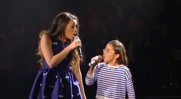 Johana y Vanesa cantan Otro amor vendrá