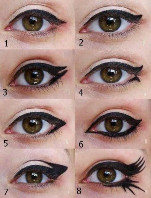Eyeliner Makeup Step by Step