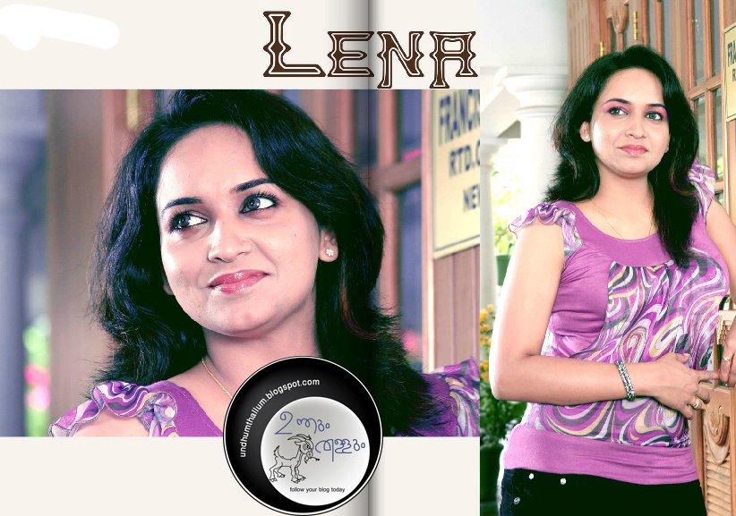 Malayalam actress Lena hot new photos in saree and churidar.