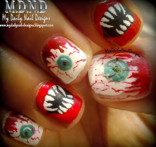 Drpoison ivys beauty blog october 2013 halloween nail art prinsesfo Image collections