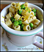 Spring Peas with Ditalini and Lemon
