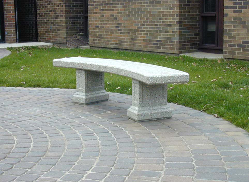 Doty Sons Concrete Products Inc Curved Morrison Bench