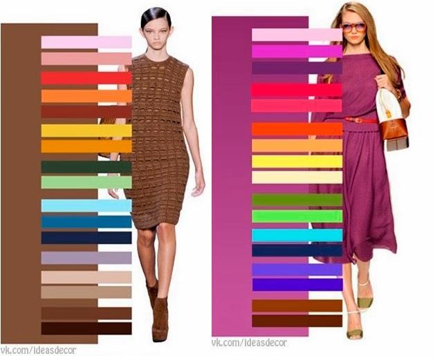 Combinar colores qu acierto - Combinar color marron ...