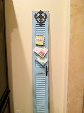 Shabby Chic Shutter- SOLD