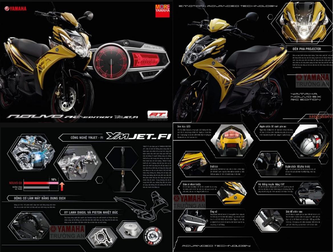 informasi harga dan spesifikasi Yamaha Nouvo 2013. Ini adalah motor