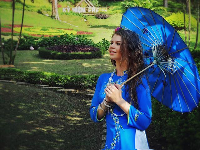 национальный костюм Вьетнама аозай